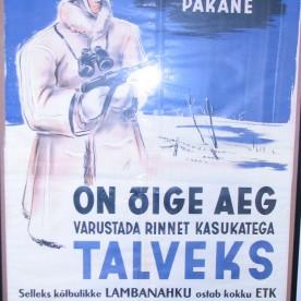 6 Saksa okupatsiooni aegne propagandaplakat aastast 1943